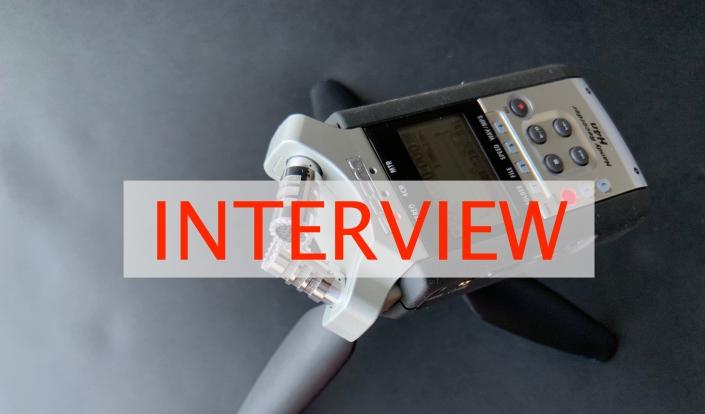 Interview (Foto: Burkhard Bensmann)