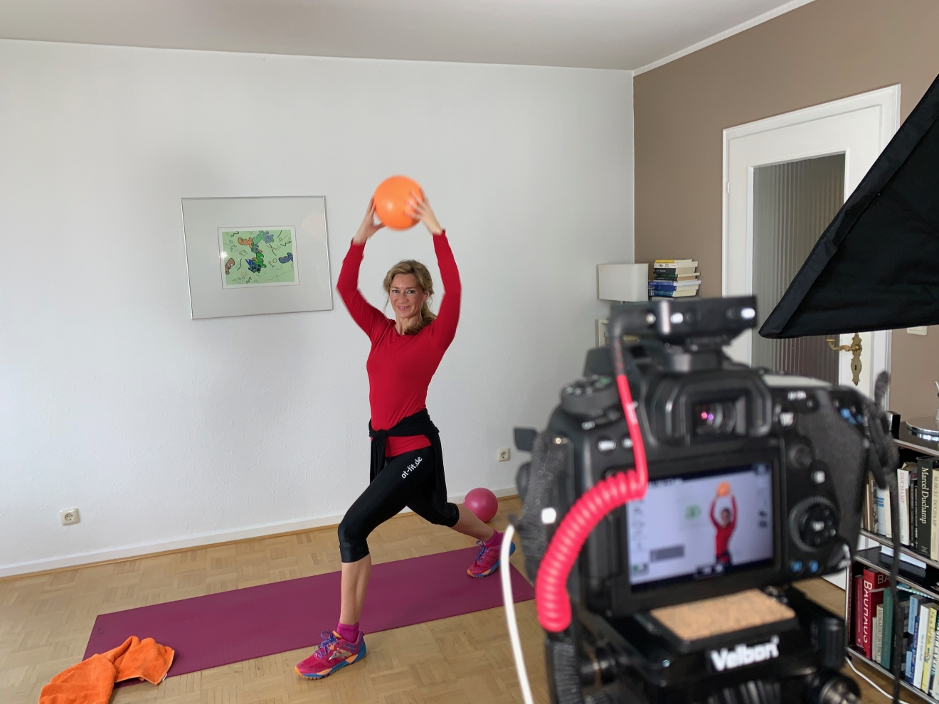 Anja Termöllen im Home Video Studio